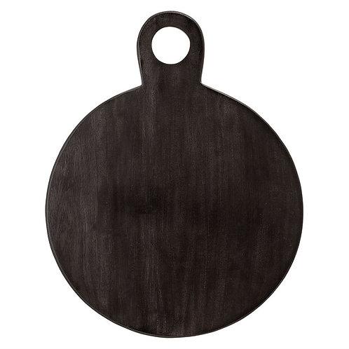 Black Acacia Wood Tray + Cutting Board