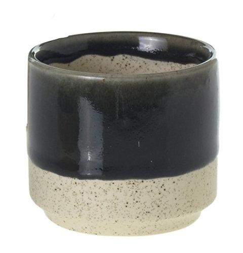 Medium Glazed Ceramic Plant Pot