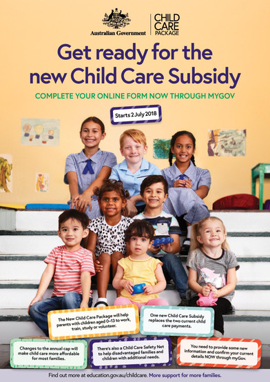 Get Ready for the New Child Care Subsidy