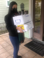 Food delivery to cancer survivors