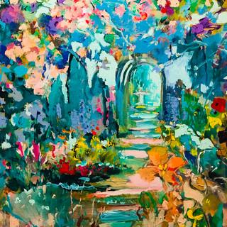 Step into the Garden | 20 x 24