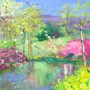 The Joys of Spring | 30 x 30