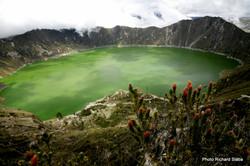 EKVADOR Laguna Quilotoa