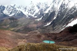 Huayhuash laguna Jurau