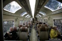 PERU, vlak na Machu Picchu