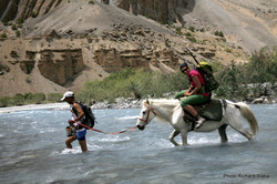 LADAKH řeka ZARA