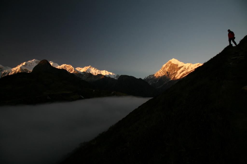 Indie Sikkim Kangchenjunga