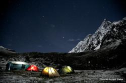 Camping trip Peru