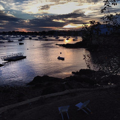Sunrise in Marblehead, MA