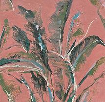 "Malibu, 12""x12"", Mixed Media on Canvas"