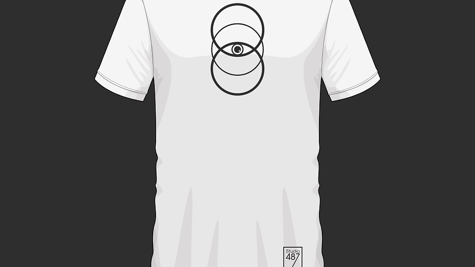 Tee-Shirt Third Eye (Blanc)