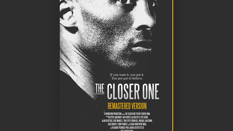 Affiche (V3) The Closer One (Kobe Bryant)