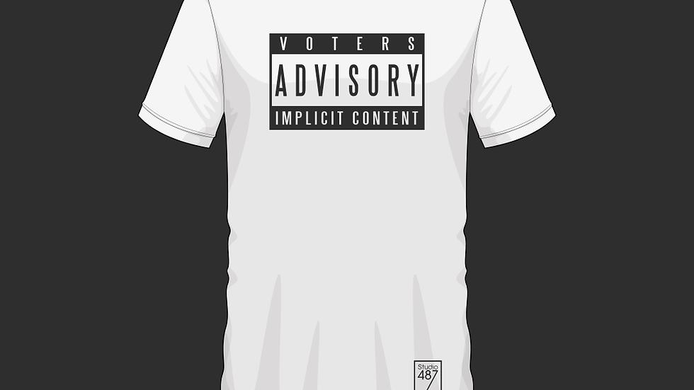 Tee-Shirt Implicit Content (Blanc)