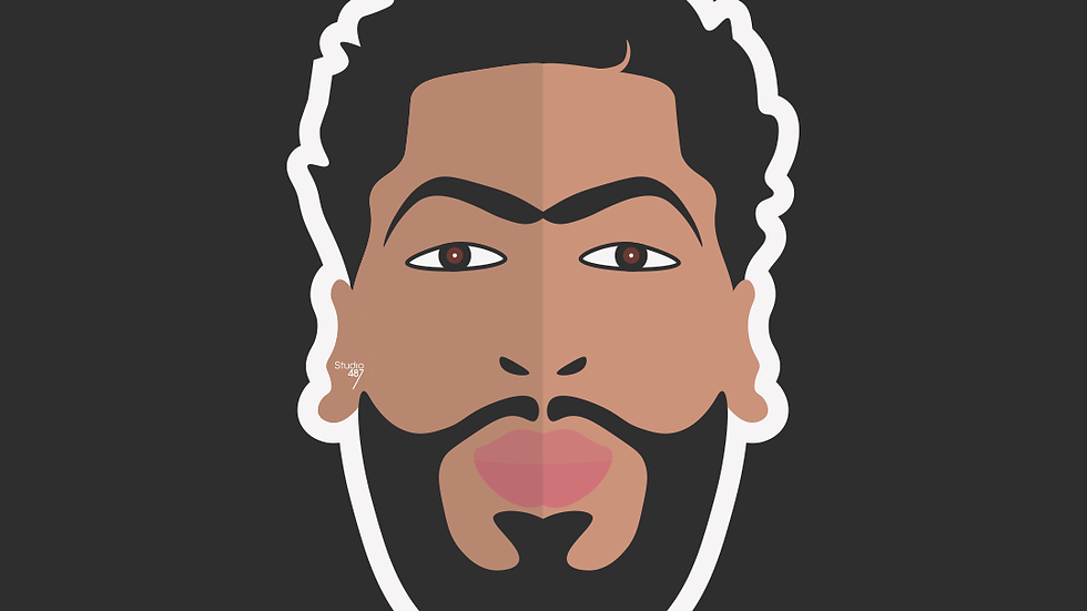 Stickers (x 10) Anthony Davis (Holographiques)