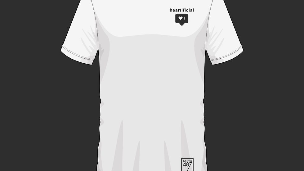 Tee-Shirt Heartificial (Blanc)