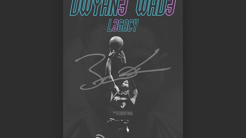 Affiche (sans cadre) L3GACY (Dwyane Wade)