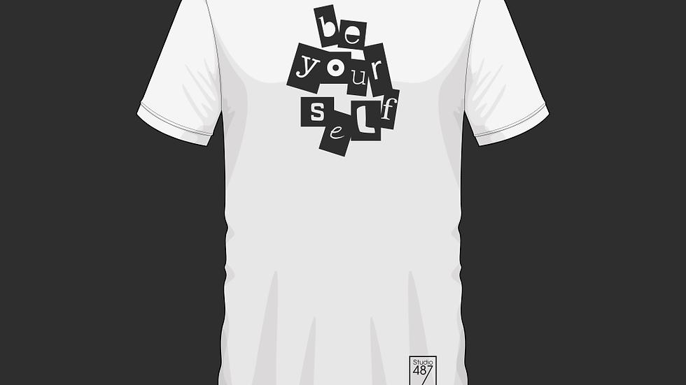 Tee-Shirt Be Yourself (Blanc)