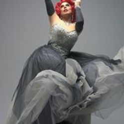 La Voix Grey Dress