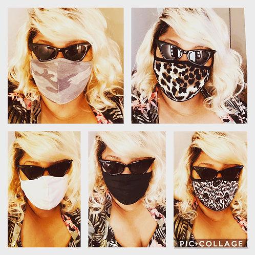 Super Comfy Masks with Filter Pocket