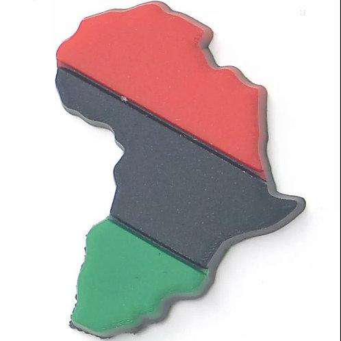 Red/Blk/Grn Africa jibbit