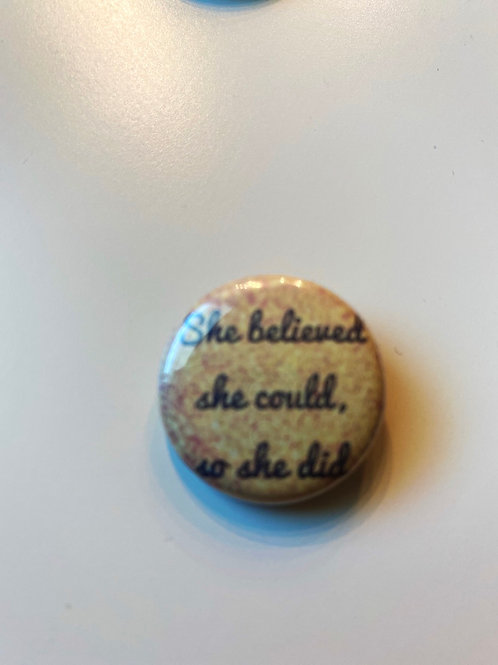 """She believed she could 1"""""""