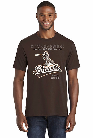 "Denver Browns ""6 Time"" T-Shirt"