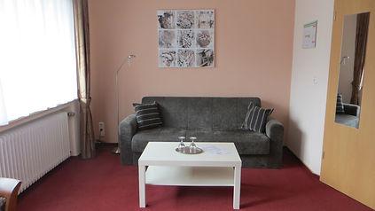Sitzecke Suite mit Balkon