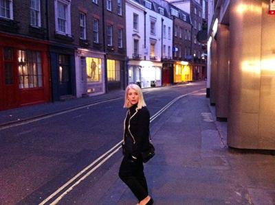 Kathleen Tessaro in London