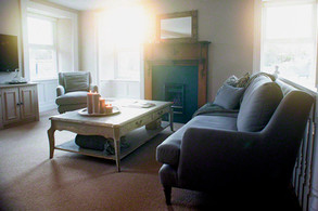 Morning sun in the liviing room
