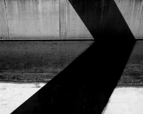 Shadow. River. Bridge.