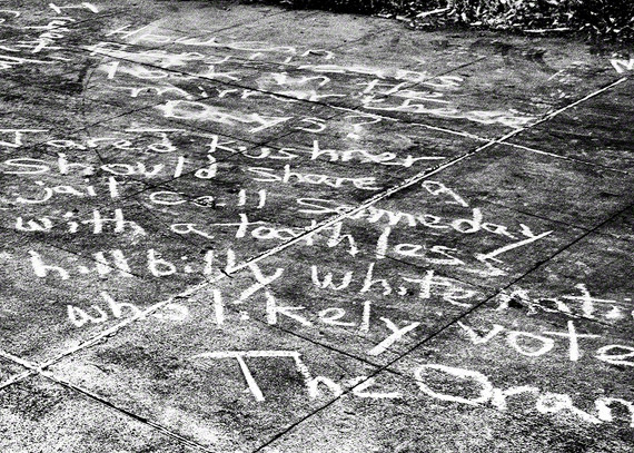 Words found beside the LA river