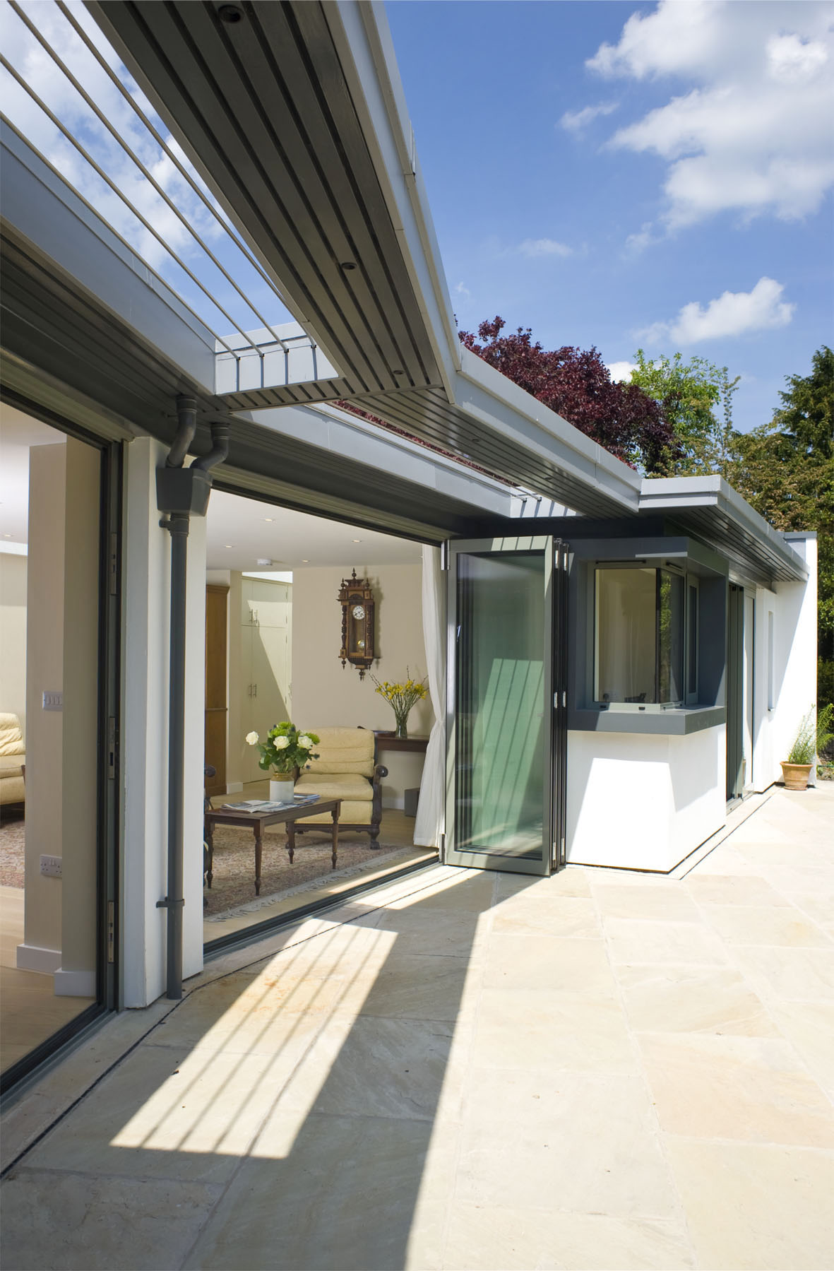architect cambridge extension brise soleil