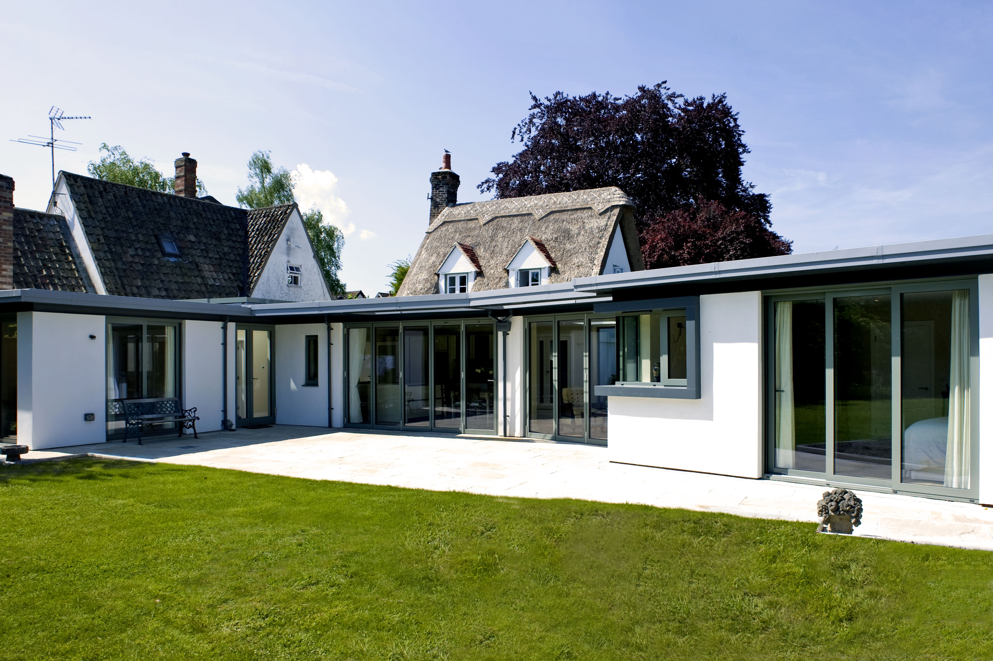 architect cambridge extension canopy render