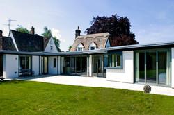 architect cambridge extension canopy render