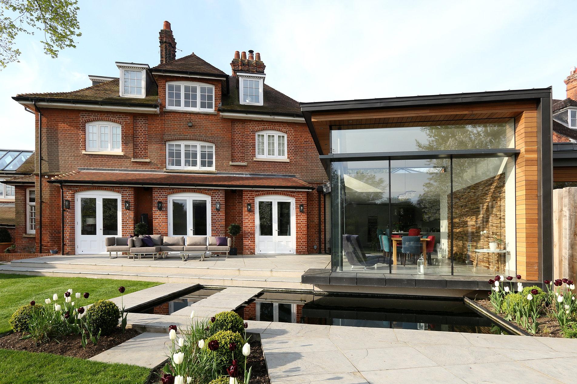 Architect Extension Cambridge Glass ...