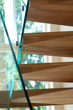 architect house london stair glass