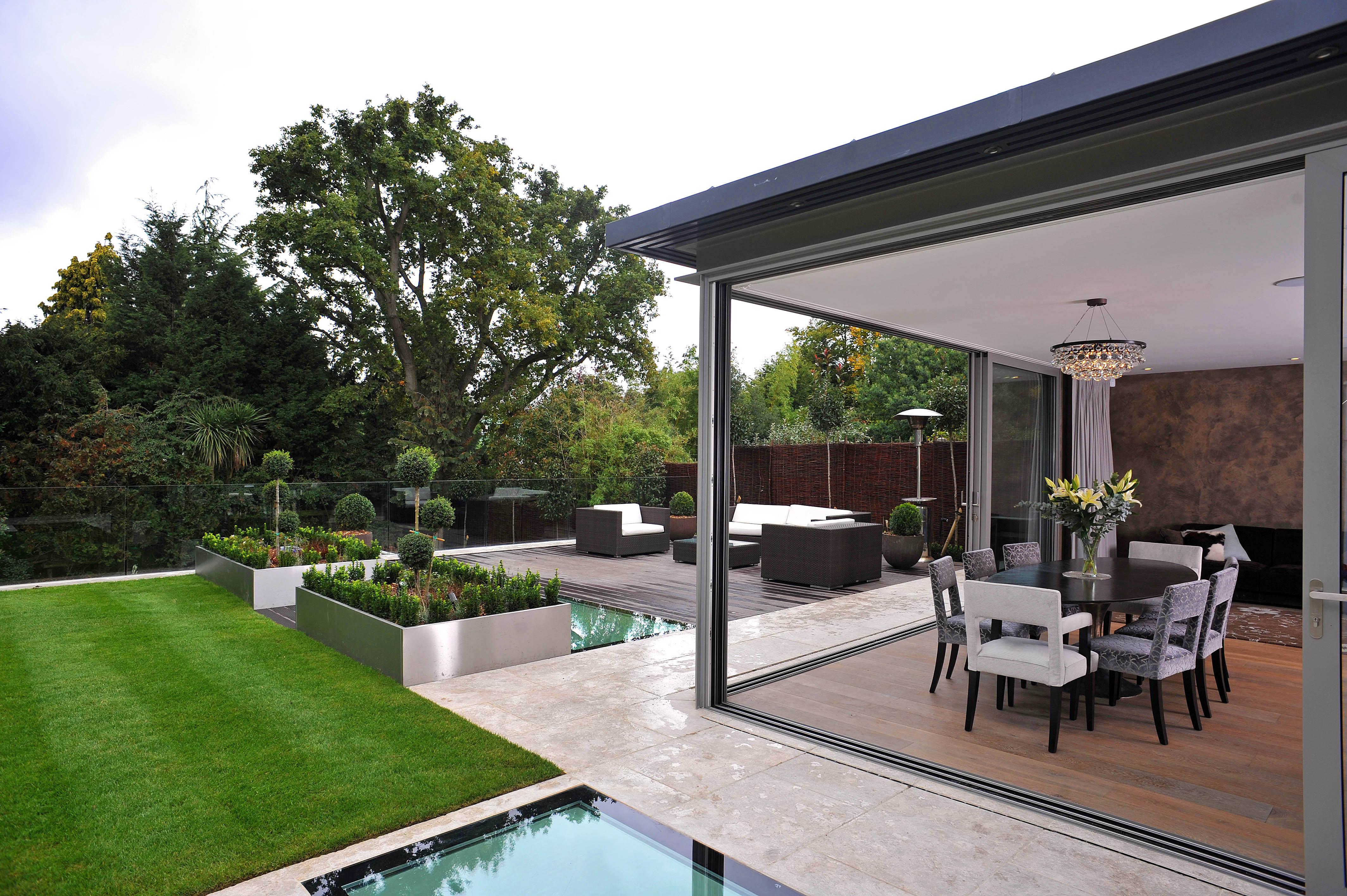 architect refurbishment house glass