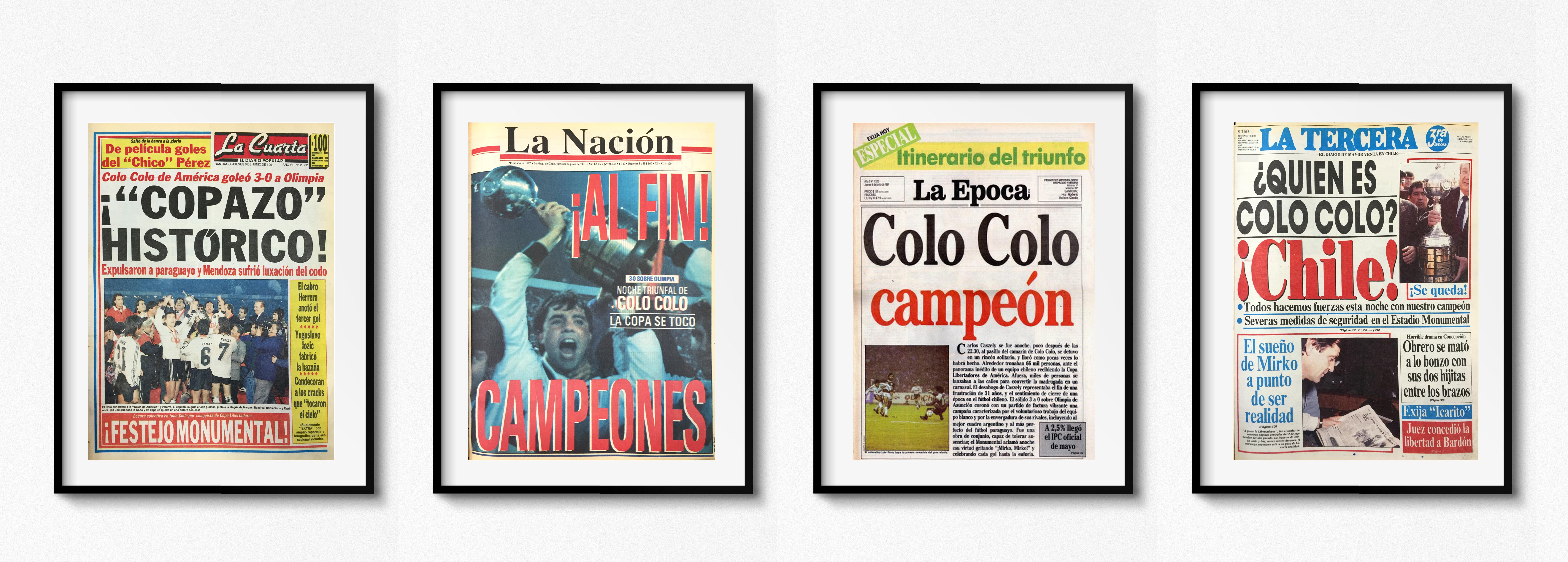 Todas Colo Colo 1991