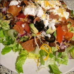 Loaded Taco Salad