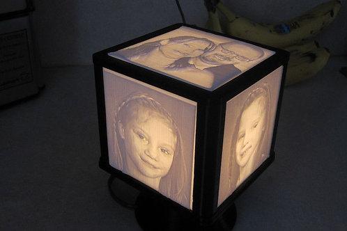 LITHOPHANE LIGHT PHOTO GIFT BOX