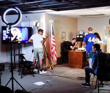 Oscar Armando Working With David Rountree at LA Acting Studios
