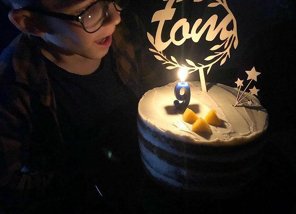 Cake topper couronne de laurier