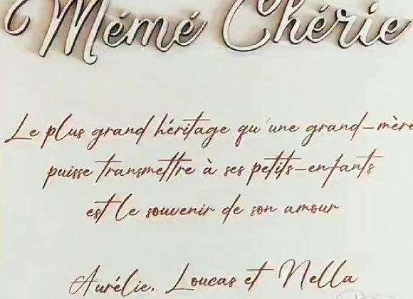 Pancarte Fête des mamies