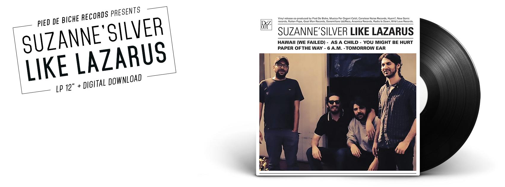 """suzanne silver  """"like lazarus"""""""