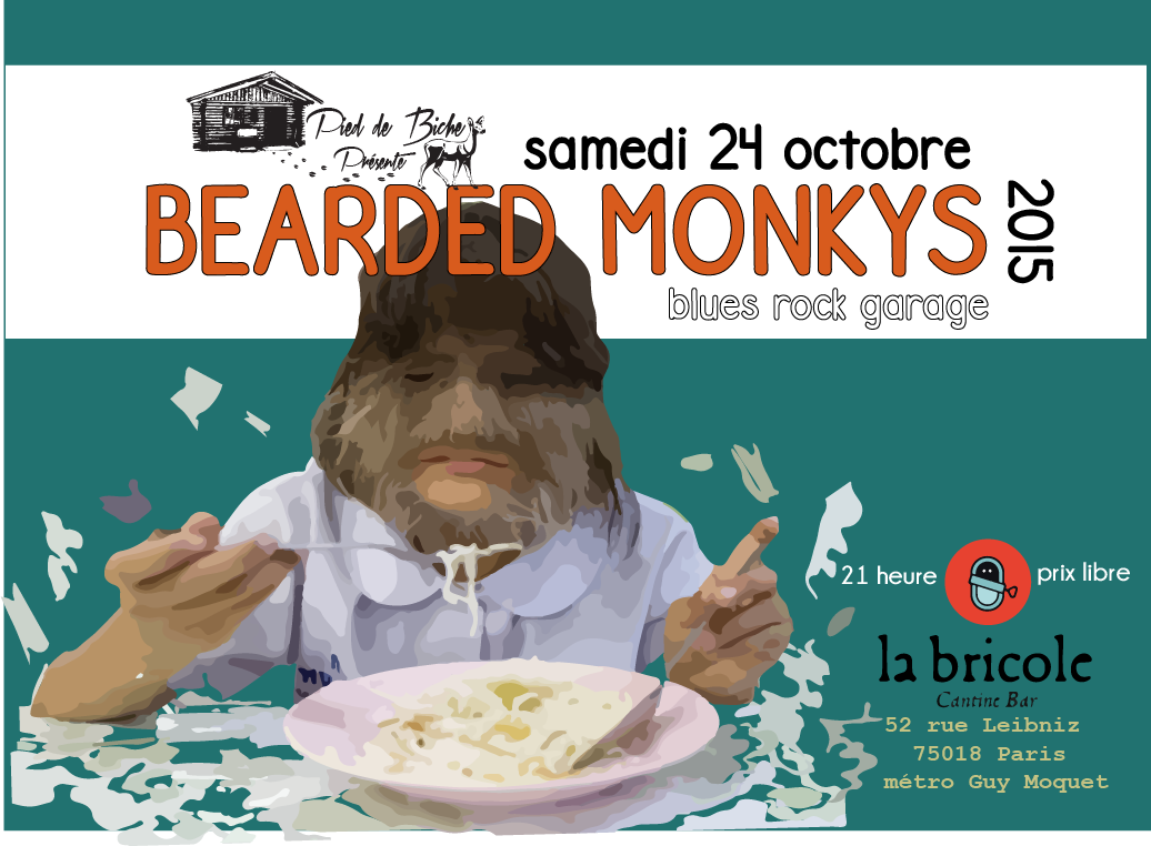 bearded monkys