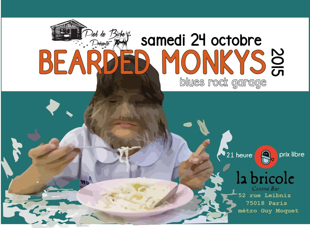 bearded monkys