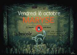 MARYSE@ la bricole (prix libre)