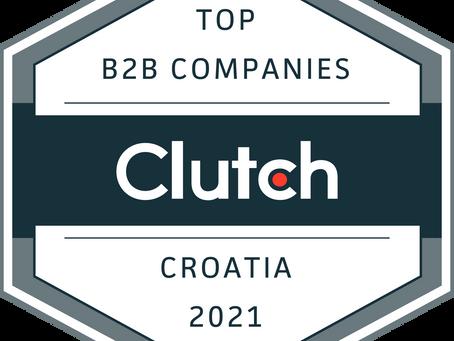 REVIVAL Digital Agency is a Clutch Top Croatian B2B Company for 2021