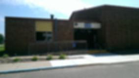 Isle Recreation Education Center building front entrance