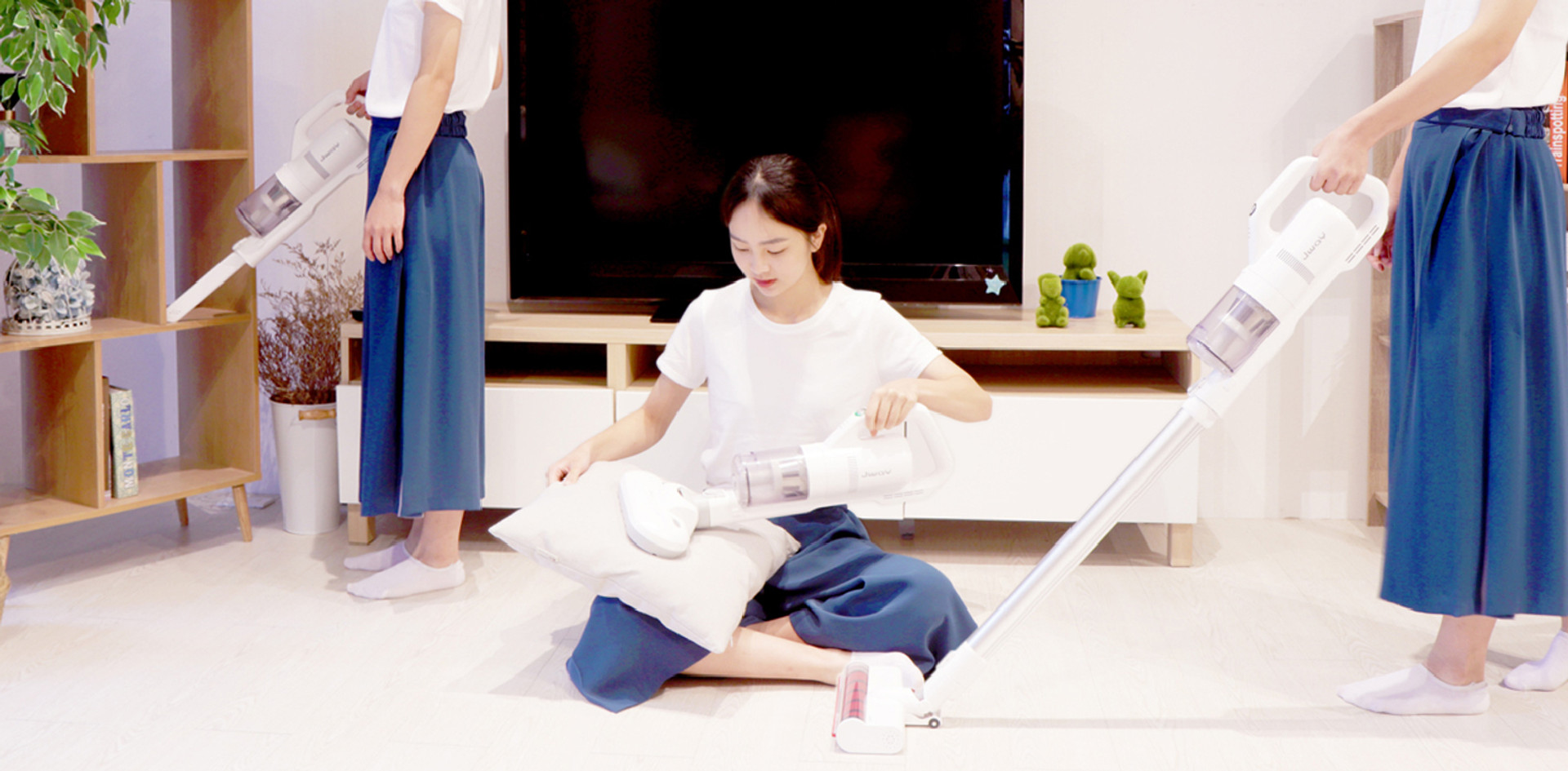 【JWAY】無線三合一塵蟎吸塵器
